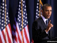 Barack Obama, dupa tornada care a devastat Oklahoma.
