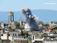 BBC: Un raport al Natiunilor Unite prezinta dovezi despre folosirea armelor chimice in Siria