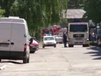 Un barbat a murit dupa explozia din Brasov. Din cei patru raniti, unul este in stare grava la spital