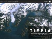Google TimeLapse: Evolutia Terrei in ultimii 28 de ani de monitorizare prin satelit