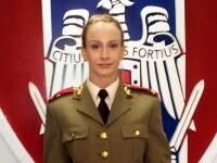 Gimnasta Sandra Izbasa a fost inaintata la gradul de locotenent, prin ordin al ministrului Apararii