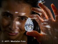 Cel mai mare diamant pur incolor din lume, vandut cu un pret record: a fost gasit in Botswana