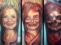Cum si-a modificat un barbat tatuajul cu fosta sa iubita. Imaginea a ajuns viral. FOTO