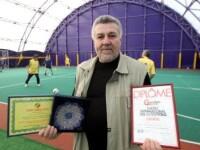 Remi Radulescu, romanul premiat la Geneva pentru REMBAL, cel mai nou joc de fotbal din lume