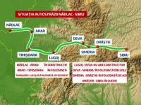 Romania a lansat prima autostrada pe care o parcurgi in 7 minute.Harta marilor drumuri lasate in aer