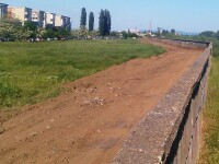 Au inceput lucrarile la pista de biciclete care va lega Padurea Ceala de centrul Aradului