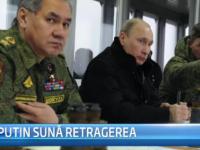 STIRI EXTERNE PE SCURT. Vladimir Putin suna retragerea trupelor ruse, iar Paza de Coasta din Coreea de Sud este desfiintata