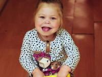 Boala genetica rara, care afecteaza unul din 15.000 de copii din Marea Britanie. Cum arata aceasta fetita in urma cu trei ani
