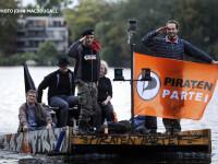 Piratii au plecat sa cucereasca Bruxelles-ul. Partizanii Internetului liber vor sa intre in Parlamentul European