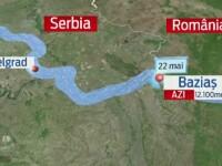 Cum se pregatesc autoritatile pentru viitura de pe Dunare, care a facut ravagii in Serbia si Croatia. Joi ajunge in Romania