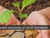 Banul european si satul romanesc. REPORTAJ MULTIMEDIA despre cum a cheltuit Romania cele 5 miliarde de euro luate din Uniune