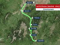 STIRI INTERNE PE SCURT. Constructia Autostrazii Comarnic Brasov ar putea incepe anul acesta, in iulie