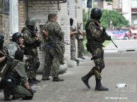 Criza in Ucraina. Cel putin 23 de militari ucraineni au fost ucisi, iar 93 au fost raniti in estul Ucrainei