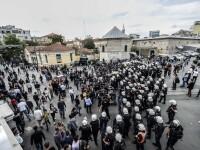 Politia turca a folosit gazele lacrimogene impotriva manifestantilor din Parcul Gezi. Amenintarile premierului Erdogan