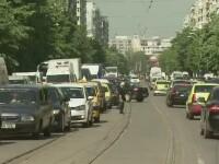 Trafic infernal in Capitala, marti dimineata, din cauza unui accident de pe Stefan cel Mare: