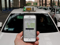 Deputatii au scos UBER in afara legii. Aplicatia nu mai corespunde noilor reguli privind transportul in regim de taxi