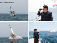 Coreea de Nord afirma ca a testat o noua racheta