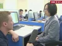 Reportaj CNN in Coreea de Nord. Ce a raspuns o studenta la intrebarea daca a intrat vreodata pe Facebook