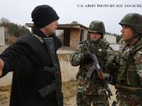 Interventie impotriva unei grupari teroriste, in Macedonia. Batalia cu fortele de ordine a durat o zi intreaga