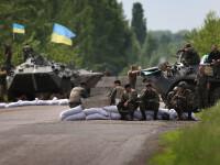 Conflict cu armament greu in Ucraina. Tensiunile dintre armata si separatistii prorusi capata proportii
