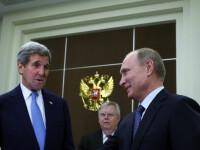 John Kerry s-a intalnit cu Vladimir Putin la Soci: