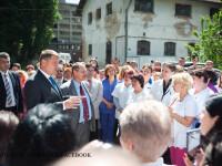Iohannis vrea sa salveze institutul Cantacuzino, dar spune ca nu i s-au prezentat solutii.