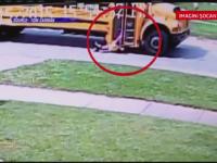 Momente de groaza pentru o fetita din SUA. Ce s-a intamplat imediat dupa ce a coborat din autobuzul scolar