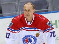 Meci de senzatie la Soci: Vladimir Putin a incaltat patinele si a jucat hochei cu vedete. Reactia din social media. VIDEO
