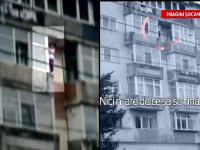 Misiunea contracronometru ce i-a salvat viata tinerei agate de balcon. Unul dintre pompieri a ramas marcat de acest caz