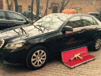 Ce a putut uita un barbat intr-un taxi din Rusia. Politia este acum in cautarea lui