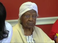 O americanca a sarbatorit implinirea a 116 ani. Sansele de a atinge aceasta varsta, mai mici decat cea de a castiga la loto