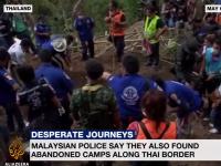 Descoperire macabra in Malaezia. Autoritatile au gasit 139 de morminte ale victimelor traficului uman