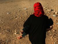 Statul Islamic a ars de vie o femeie pentru ca a refuzat sa ia parte la un