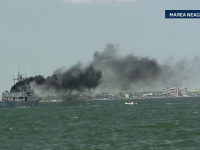 Imagini impresionante cu zeci de nave de lupta intr-o interventie pe Marea Neagra. Cum s-a terminat exercitiul NATO