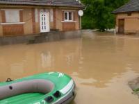 Alerta in Satu Mare, dupa ce un rau a inundat zeci de gospodarii. Codul rosu de inundatii a fost prelungit