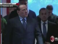 Silvio Berlusconi a mers la o festivitate electorala crezand ca este cea a candidatului pe care il sustine. Surpriza avuta
