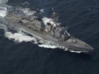 Reactia americanilor dupa ce rusii au anuntat ca au trimis avioane sa opreasca distrugatorul USS Ross in Marea Neagra