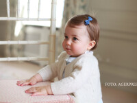 Noi fotografii cu printesa Charlotte, dezvaluite de Familia Regala. Ipostaza inedita in care a pozat mama ei, ducesa Kate