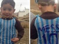 Ce s-a intamplat cu baiatul care si-a facut tricou cu Messi dintr-o punga. Marturia cutremuratoare a tatalui
