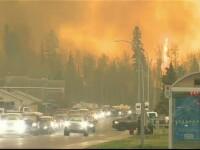 Stare de urgenta in Canada. Incendiile de vegetatie au distrus cel putin 1.600 de cladiri