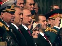 Parada grandioasa, in Piata Rosie, din Moscova. Discursul presedintelui Vladimir Putin la comemorare