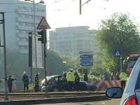 Accident grav langa campusul studentesc din Capitala. Cinci persoane au ajuns la spital, iar una este in stare grava