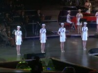 Corul armatei si o trupa de muzica pop formata din fete, in concertul care a marcat incheierea congresului din Coreea de Nord