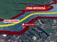 Limita de viteza pentru barci si interzicerea skijet-urilor. Noile reguli care se vor aplica pentru lacul Snagov