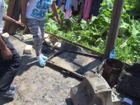 O familie din Dambovita a ramas fara casa, dupa un incendiu violent. Aparatul banal de la care au pornit flacarile