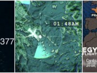 Prabusirea avionului EgyptAir: ramasite umane, scaune si valize, gasite in Marea Mediterana. Ce a surpins in larg un satelit