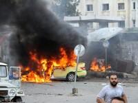 Exploziile in lant a 7 masini-capcana au ucis cel putin 100 de persoane, in Siria. Atentatul a fost revendicat de ISIS