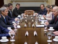 """Ciolos, intalnire cu Joe Biden in SUA. """"Am obtinut sprijinul SUA pentru intarirea cooperarii militare la Marea Neagra"""