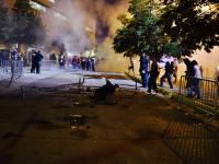 Haos si proteste violente in strada, dupa victoria lui Donald Trump in New Mexico. Cum arata sondajele in momentul de fata
