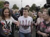 Eliberata de rusi, Nadia Savcenko anunta ca e gata sa se sacrifice din nou pentru Ucraina. Porosenko:
